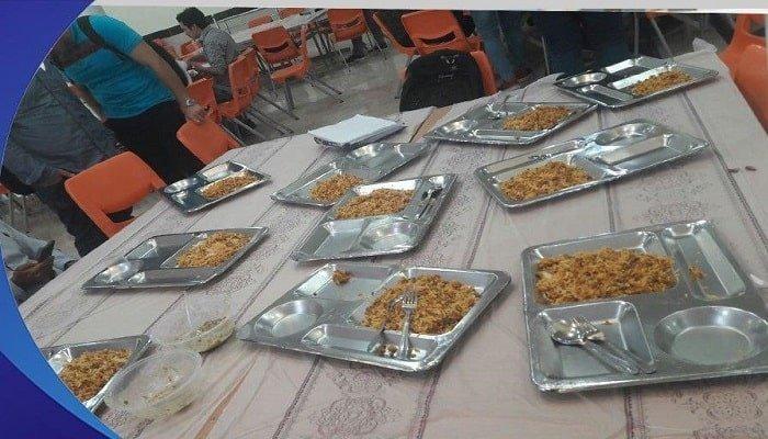 اعتراض دانشجویان دانشگاه آزاد علی آباد کتول به بیکیفیتی غذا