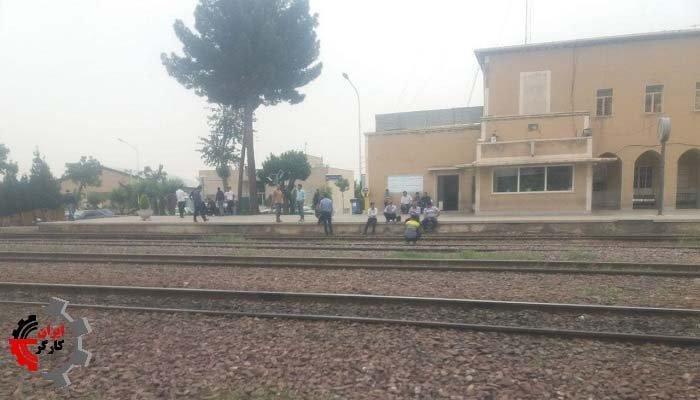 اعتصاب کارگران راه آهن اسلامشهر