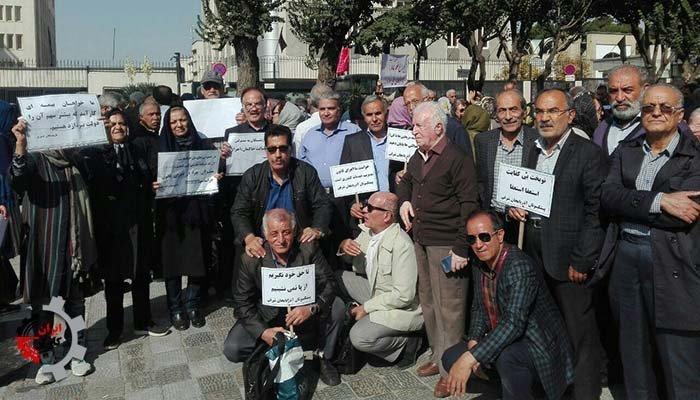 تجمع بازنشستگان در ایران در اعتراض به حقوق پایینتر از خط فقر ـ گزارش