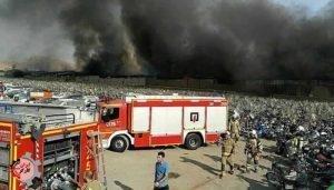 آتشسوزی گسترده