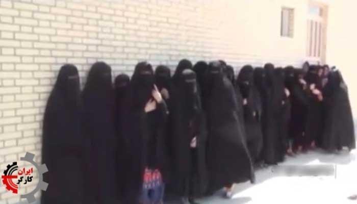 شرایط سخت دختران دانش آموز و ترک تحصیل آنان در نیکشهر ۲۰روز بعد از شروع مدرسه