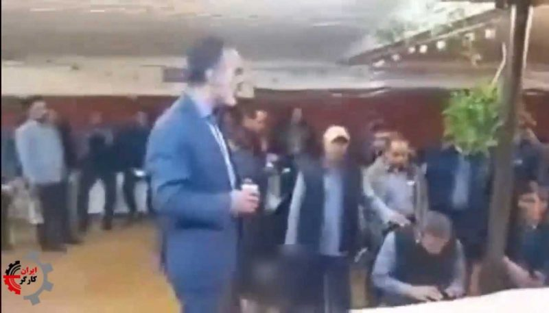 ما گرسنهایم ، ما حق اعتراض داریم؛ فیلم فریادهای راننده شرکت واحد اصفهان در تجمع رانندگان