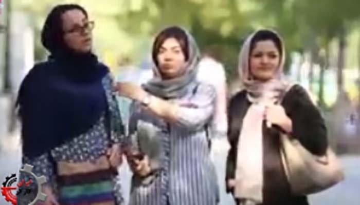 گزارش ویدئویی از تورم در خیابانهای تهران