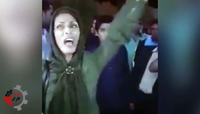 فریادهای یک خانم شجاع به جان آمده از فساد و فقر