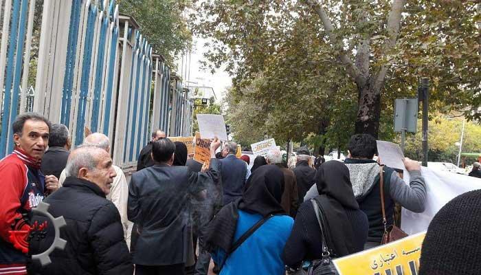 سپرده گذاران غارتشده کاسپین در تهران