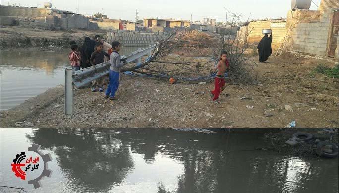 روستای سد شاوور ۳روز بدون آب آشامیدنی