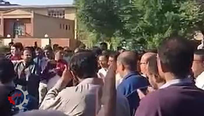 کارگران گروه ملی فولاد اهواز