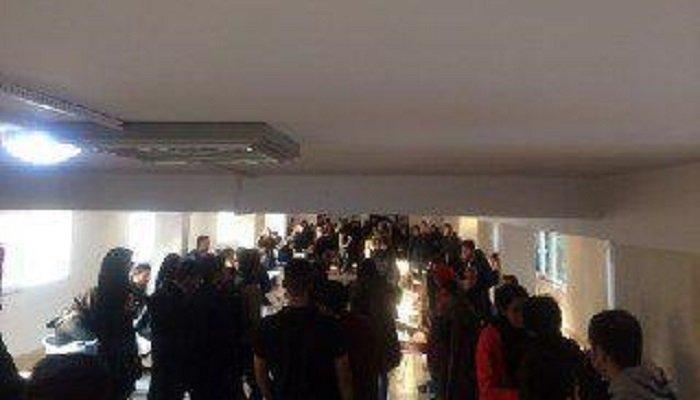 تجمع اعتراضی دانشجویان دانشکده علوم اجتماعی علامه