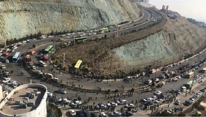 واژگونی اتوبوس دانشجویان دانشگاه علوم تحقیقات تهران حادثه مرگبار اتوبوس