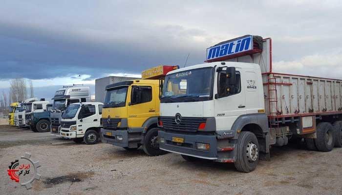 گسترش اعتصاب کامیونداران