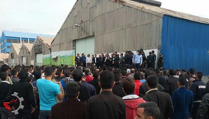 اعتصاب کارگران نیشکر هفت تپه