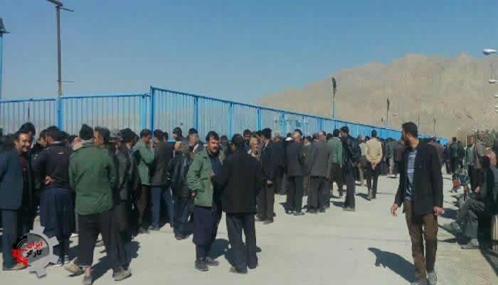 تجمع اعتراضی کشاورزان خشمگین قهدریجان