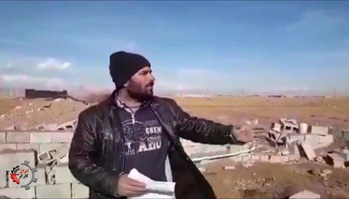 یورش ۵۰ مامور شهرداری به طویله یک کشاورز اصفهانی و تخریب کامل آن!
