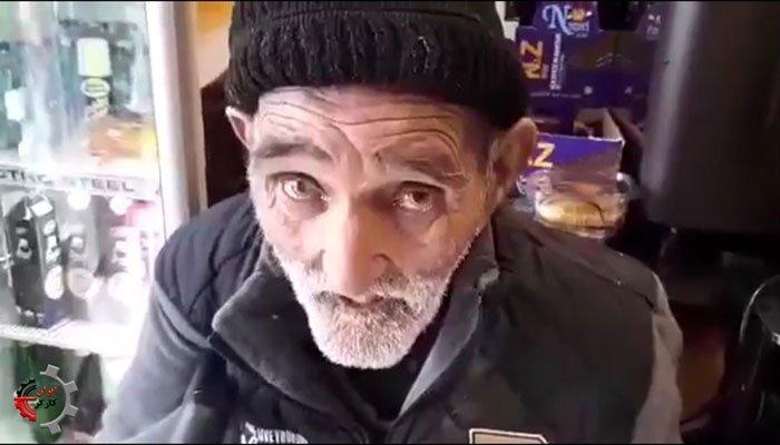 پیرمرد ۹۹ساله