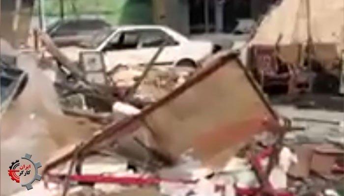 زورگیری و حمله شبانه ماموران شهرداری