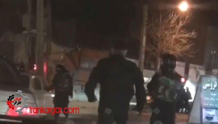 ایجاد رعب و وحشت شبانه با رژه نیروهای ویژه در خیابانهای شهر ارومیه