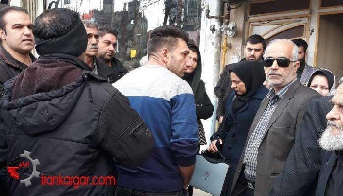 سپردهگذاران غارت شده کاسپین در کرمانشاه