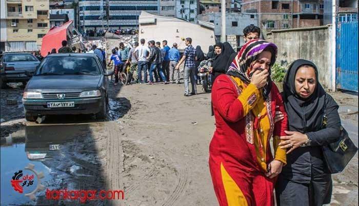 ترانه زیبای مصور یک خانم شیرازی در رثای جان باختگان سیل در شیراز