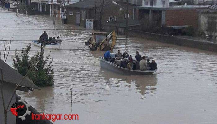 ویرانی هزاران خانه و جاده در اثر سیل در چند استان کشور ۲ فروردین ۹۸