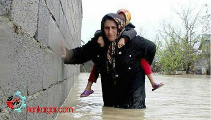 بحران سیل در خوزستان و تخلیه شهرها و روستاهای مختلف