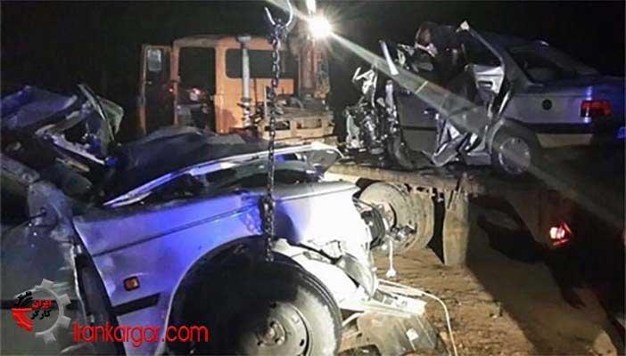تصادف جادهای در تهران و فسا