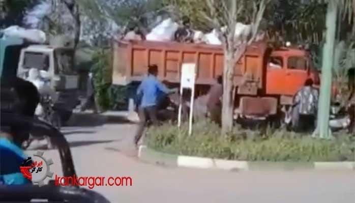 ممانعت مردم از سرقت کمکهای اهدایی