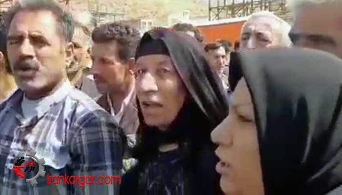 سخنان اعتراضی اهالی سرپل ذهاب یک و نیم سال بعد از از زلزله