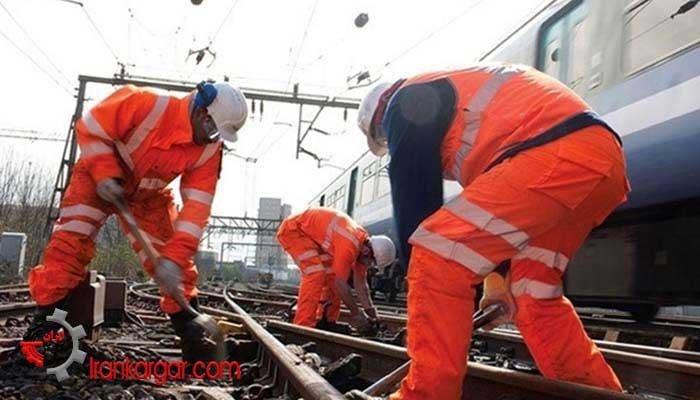 اعتراض کارکنان خط و ابنیه فنی راهآهن