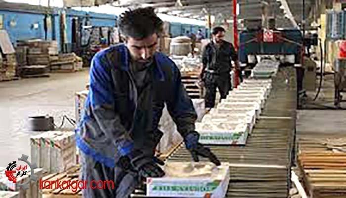 تجمع اعتراضی کارگران کارخانه کاشی کوثر در یزد