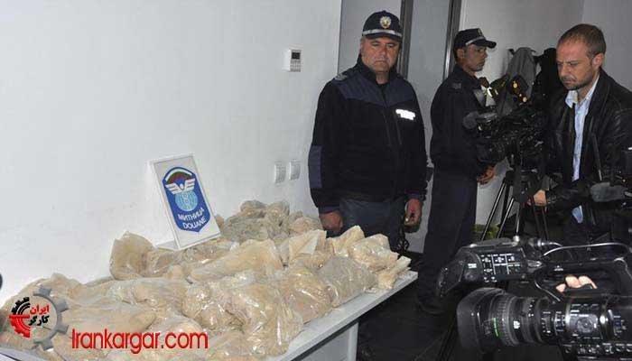 رسوایی کشف و توقیف یک کامیون با محموله هروئین متعلق به ایران