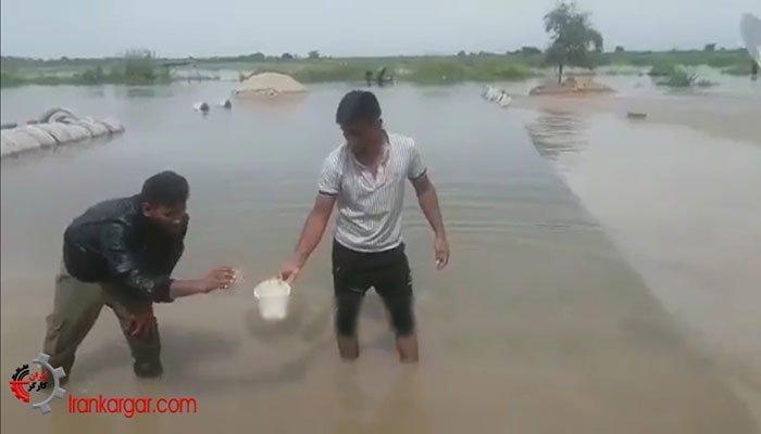 فیلم بسیاردیدنی تمسخر ستاد بحران و اقدامات آن توسط سیل زدگان خوزستانی