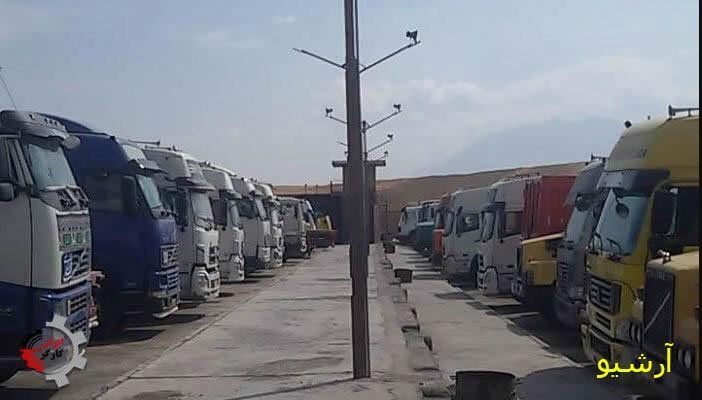 تجمع اعتراضی کامیونداران دماوند