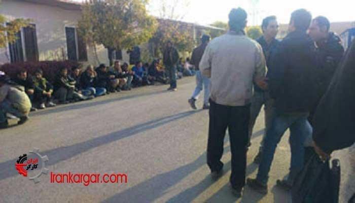 تجمع اعتراضی کارگران اخراجی