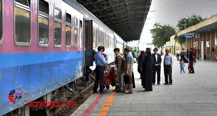 افزایش قیمت بلیت قطار