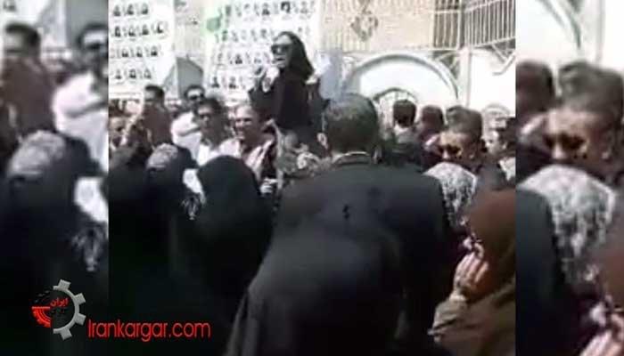 سخنان متهورانه یک خانم معلم بهجان آمده در تجمع فرهنگیان کرمانشاه