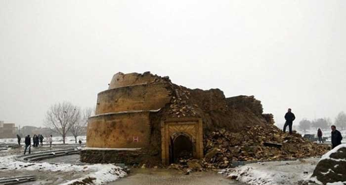 آسیبهای گسترده آثار باستانی ایران