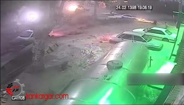 سیل چهارشنبه ۲۵اردیبهشت در کاشان