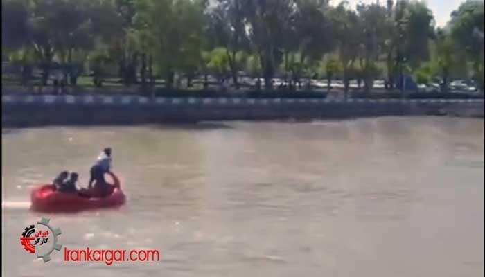 غرق شدن یک جوان بر اثر تعقیب ماموران