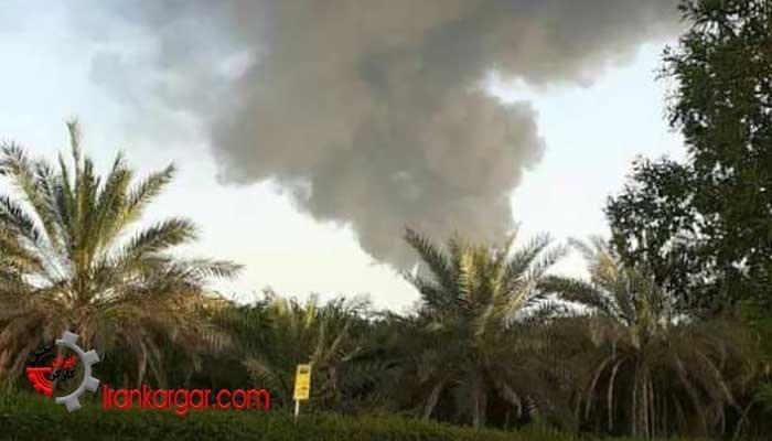 آتشسوزی در بندر رجایی با یک کشته