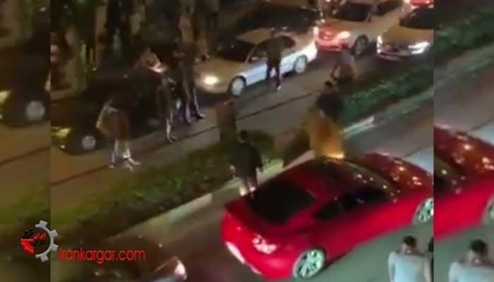 ضرب و شتم وحشیانه یک خانم توسط پلیس رشت
