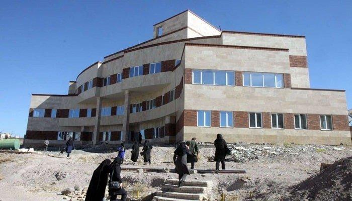 انفجار در دانشگاه علوم پزشکی قزوین