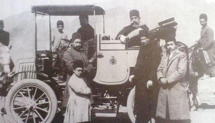 عکس اولین اتومبیل در ایران