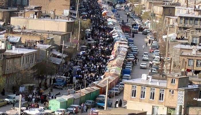 بازارچه مرزی جوانرود در آستانه تعطیلی