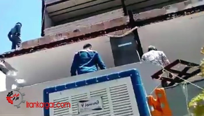 نفرینهای خانمیکه سقف خانهاش توسط شهرداری مشهد خرابمیشود