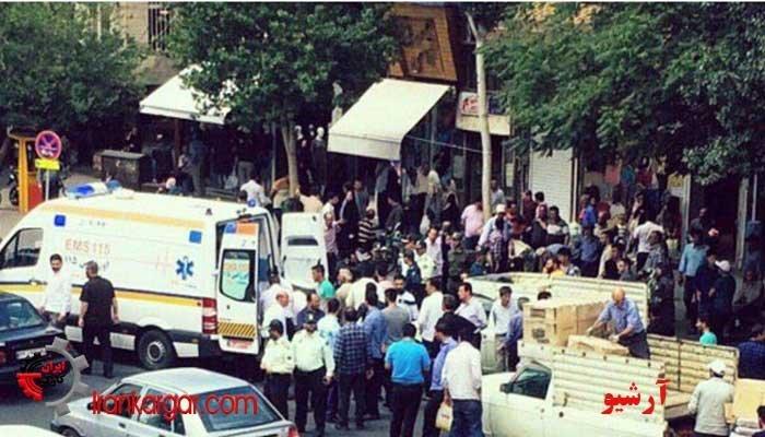 درگیری شدید دستفروشان محروم با ماموران وحشی شهرداری