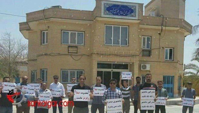 هشدار مردم بندر ماهشهر