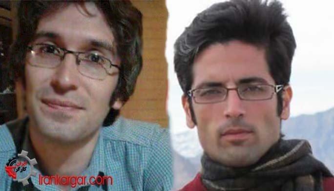دو زندانی سياسی مجید اسدی و آرش صادقی