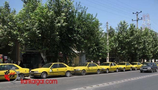 اعتصاب رانندگان تاکسی عمومی گنبد- آزادشهر