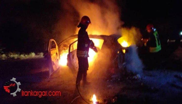 تصادف مرگبار در محور اهواز خرمشهر