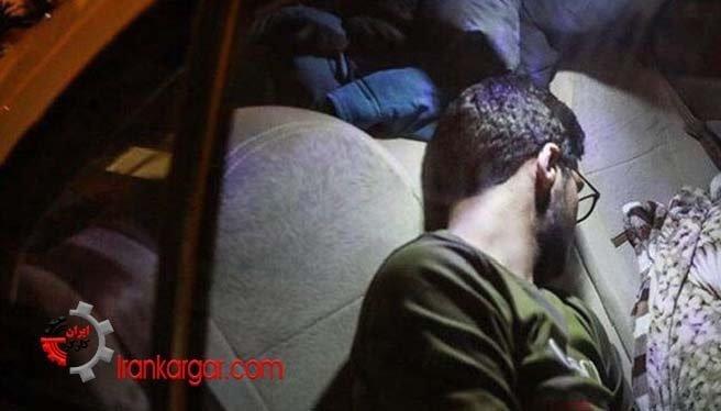 گفتگوی شبانه با ماشینخوابهای تهران